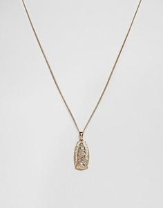 Ожерелье с подвеской Chained & Able Guadalupe - Золотой