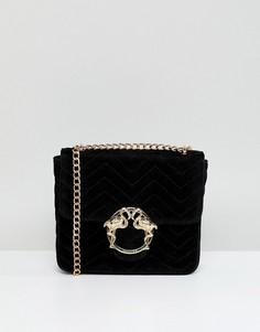 Стеганая сумка через плечо Skinnydip - Черный