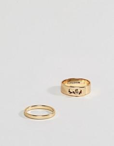 Кольцо Pilgrim - Золотой