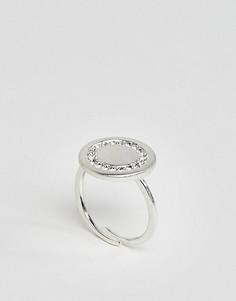 Посеребренное кольцо Pilgrim - Серебряный