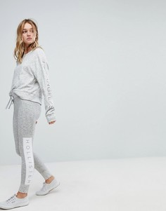 Облегающие спортивные штаны Hollister - Серый