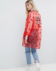 Кимоно Lazy Oaf X Betty Boop - Розовый