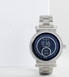 Серебристые смарт-часы Michael Kors Access MKT5020 Sofie - Серебряный
