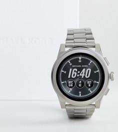 Серебристые смарт-часы Michael Kors Access MKT5025 Grayson - Серебряный