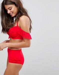 Плавки бикини Pour Moi Control - Красный