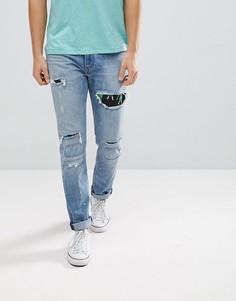 Зауженные джинсы Levis 512 Hula Time - Синий Levis®