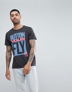 Белая футболка с принтом Button Your Fly Levis - Белый Levis®