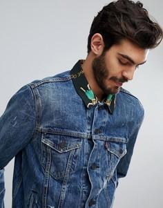 Джинсовая куртка с гавайским воротником Levis - Синий Levis®
