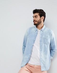 Выбеленная рубашка с карманом Levis Sunset - Синий Levis®