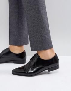 Черные туфли на шнуровке Walk London City - Черный