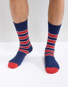 Темно-синие носки в полоску Paul Smith Kenny - Темно-синий