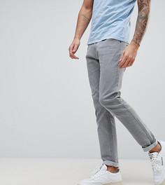Серые джинсы слим Liquor & Poker - Серый