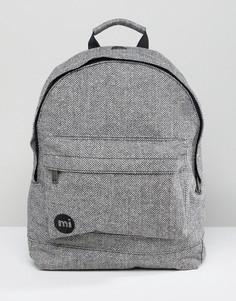 Серый рюкзак с шевронным узором Mi-Pac - Серый