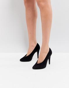 Туфли-лодочки с острым носком New Look - Черный