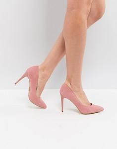 Остроносые туфли-лодочки New Look - Розовый