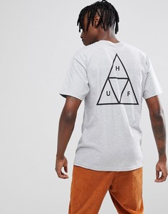 Серая футболка Huf - Серый