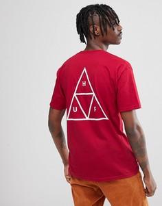 Красная футболка Huf - Красный