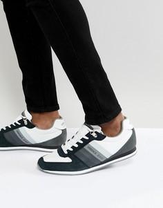 Белые кроссовки Versace Jeans - Белый