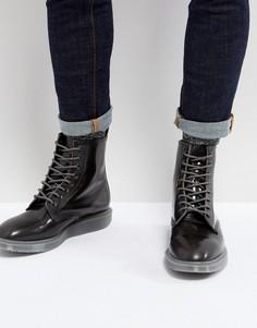 Серые ботинки Dr Martens Whiton Arcadia - Серый
