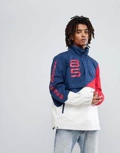 Куртка колор блок в стиле ретро Tommy Jeans - Мульти Hilfiger Denim