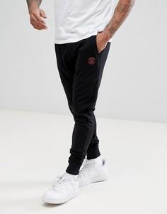 Черные узкие джоггеры с логотипом Blend - Черный