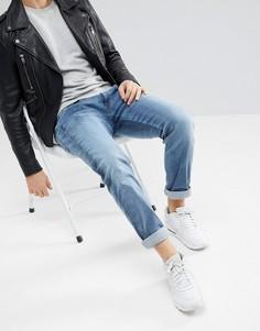 Светлые узкие джинсы Replay Anbass - Синий