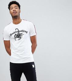 Белая обтягивающая футболка Good For Nothing TALL - Белый
