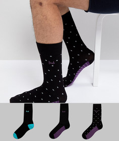 Набор из 3 пар носков Pringle Johnstone - Мульти