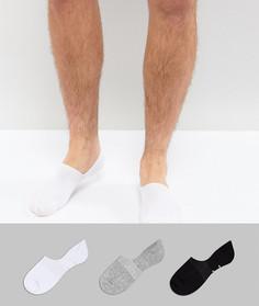Набор из 3 пар незаметных носков Pringle - Мульти