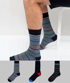 Набор из 3 пар носков Pringle Lochdar - Мульти