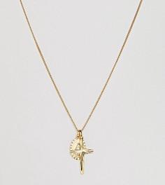 Позолоченное ярусное ожерелье Rock N Rose - Золотой