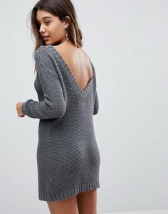 Платье-джемпер Fashion Union - Серый