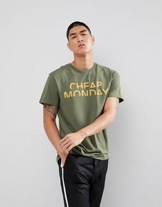 Классическая футболка с логотипом Cheap Monday - Серый