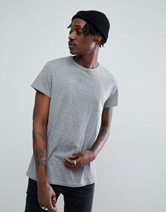 Серая узкая футболка Cheap Monday - Серый