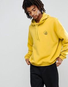 Худи желтого цвета Cheap Monday Goal - Желтый