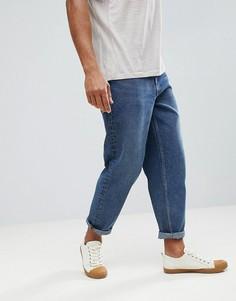 Темные расклешенные джинсы ASOS - Синий