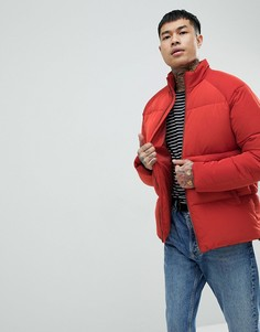 Красная дутая куртка ASOS - Красный