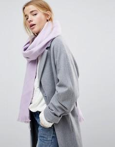Мягкий длинный шарф ASOS - Фиолетовый