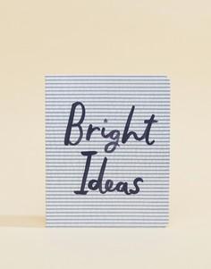 Блокнот с надписью Bright Ideas Kate Spade - Мульти
