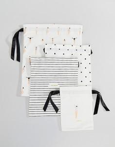 Набор мешков для белья (4 шт.) Kate Spade - Мульти