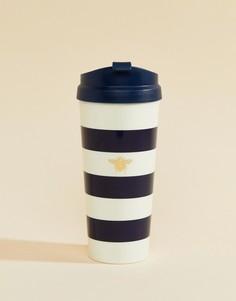 Чашка в полоску Kate Spade - Мульти