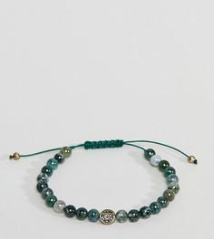 Браслет из бусин Reclaimed Vintage Inspired эксклюзивно для ASOS - Зеленый