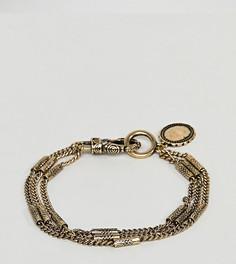 Золотистый браслет-цепочка Reclaimed Vintage Inspired эксклюзивно для ASOS - Золотой