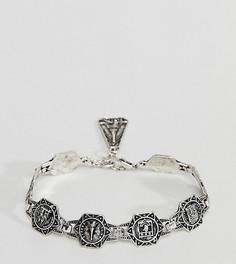 Массивный браслет-цепочка Reclaimed Vintage Inspired эксклюзивно для ASOS - Золотой