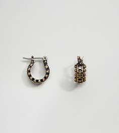 Золотистые серьги-кольца Reclaimed Vintage Inspired эксклюзивно для ASOS - Золотой