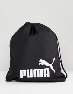 Черная сумка на шнурке Puma Phase 07494301 - Черный