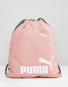 Розовая сумка со шнурком Puma 07494328 - Розовый