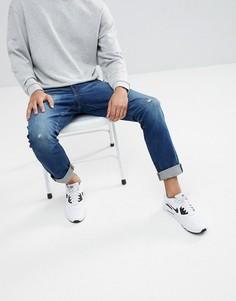 Темные зауженные джинсы G-Star 3301 - Темно-синий