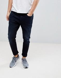 Темные суперузкие джинсы G-Star D-Staq 3D - Темно-синий