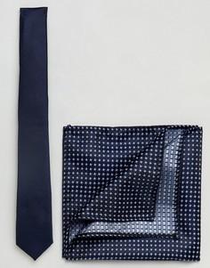 Темно-синий галстук Burton Menswear - Темно-синий